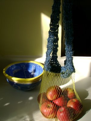 Reusing produce mesh / net bags | ecogreenlove