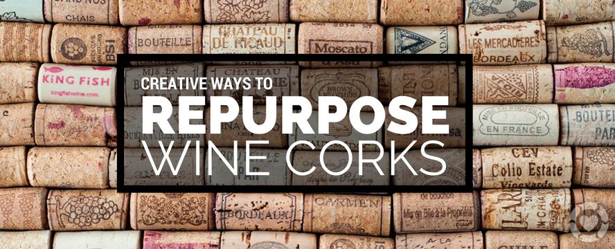 Creative ways to Repurpose Wine Corks | ecogreenlove
