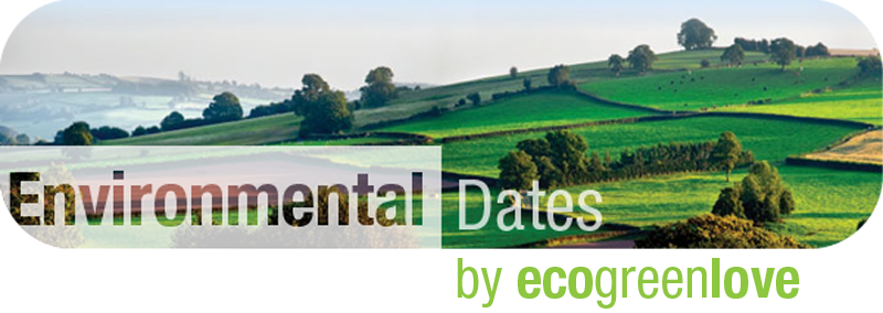 Environmental Dates: Earth Day | ecogreenlove