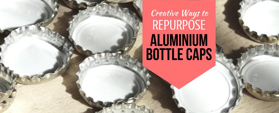Creative ways to Repurpose Aluminium Bottle Caps | ecogreenlove