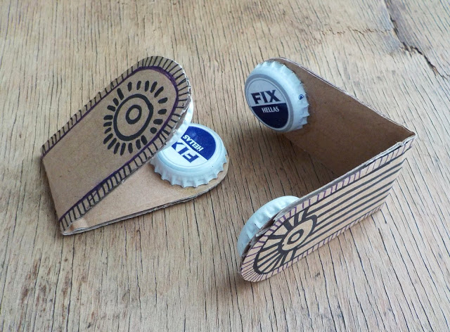 Creative ways to Repurpose Aluminium Bottle Caps | ecogreenlove