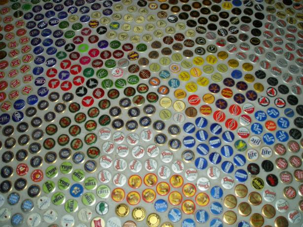 Reusing aluminium bottle caps | ecogreenlove