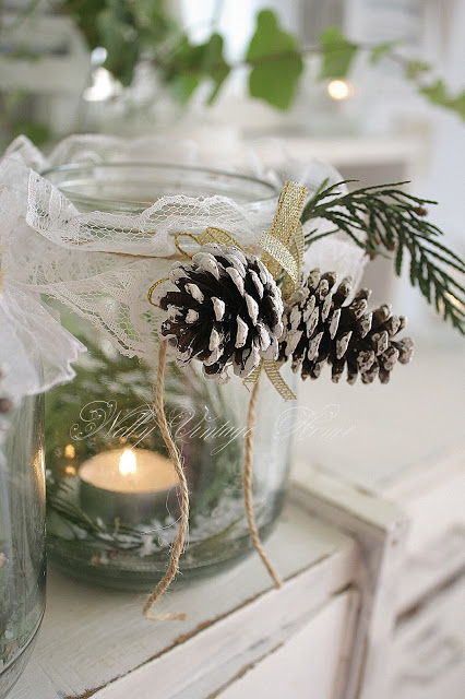 Diy Winter Decorations In Jars Ecogreenlove