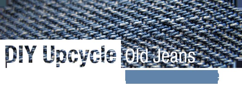 Reusing old Jeans / Denim   ecogreenlove