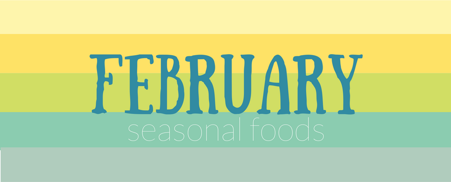 February Seasonal Food [Infographic]   ecogreenlove