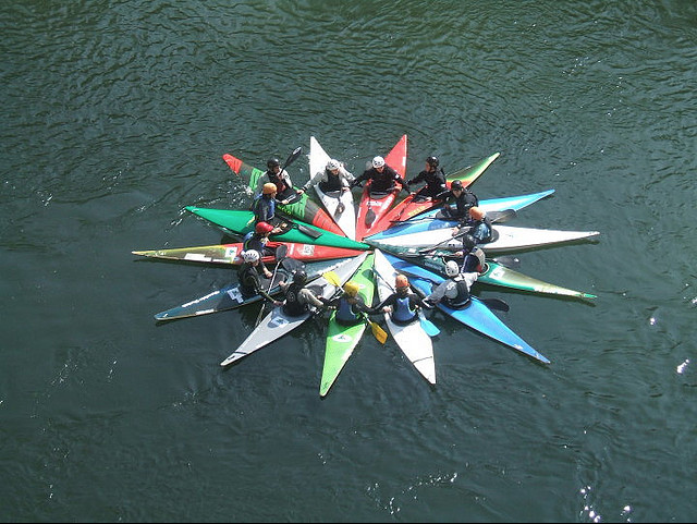 Kayaks on the Tâmega • Environmental Dates: International Day of Action for Rivers | ecogreenlove