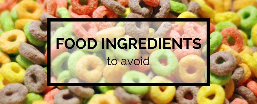 5 Food Ingredients to Avoid | ecogreenlove