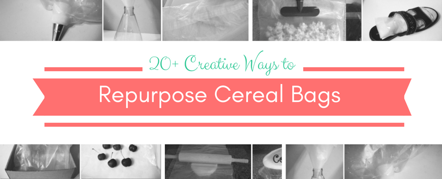 Creative Ways to Repurpose Cereal Liners | ecogreenlove