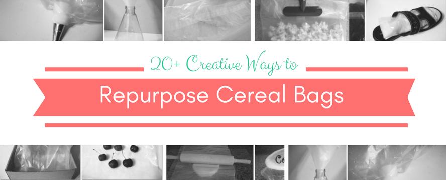 Creative Ways to Repurpose Cereal Liners | ecogreenlove