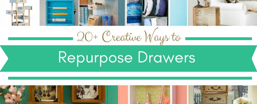 20+ Creative Ways to Repurpose old Drawers | ecogreenlove