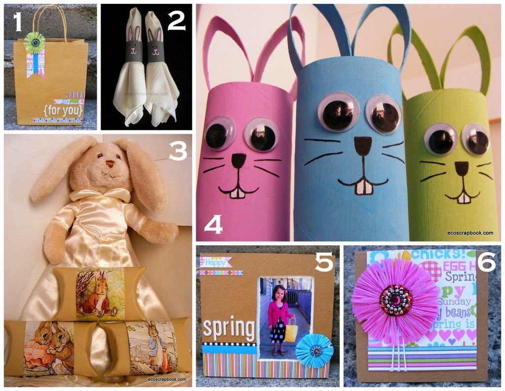 DIY: Upcycled Easter Decorations & Gifts   ecogreenlove
