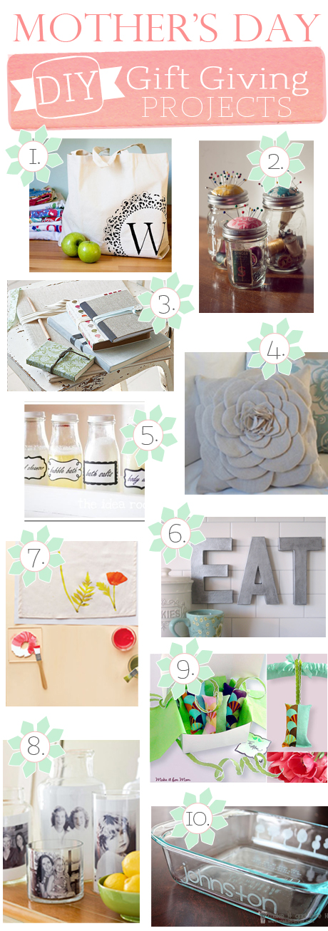 DIY: Upcycled Mother's Day Gifts ideas | ecogreenlove