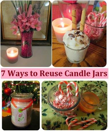 Reusing Candle Jars Ecogreenlove