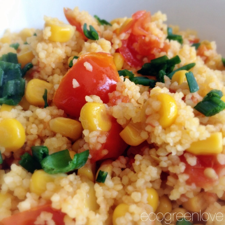 Recipe: Sweet Corn & Cherry Tomatoes Couscous Salad ...