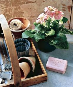 Keep nails clean when gardening by scraping your fingers along a bar of soap before digging in. The soap stays under the nail and keeps everything else out. Wash with a nailbrush to remove.