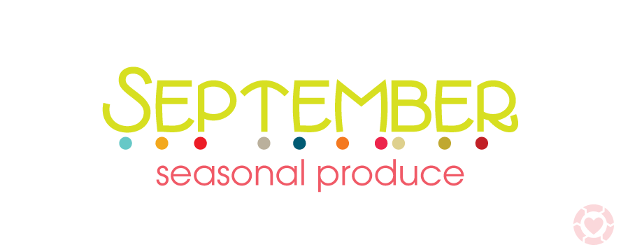September Seasonal Produce | ecogreenlove