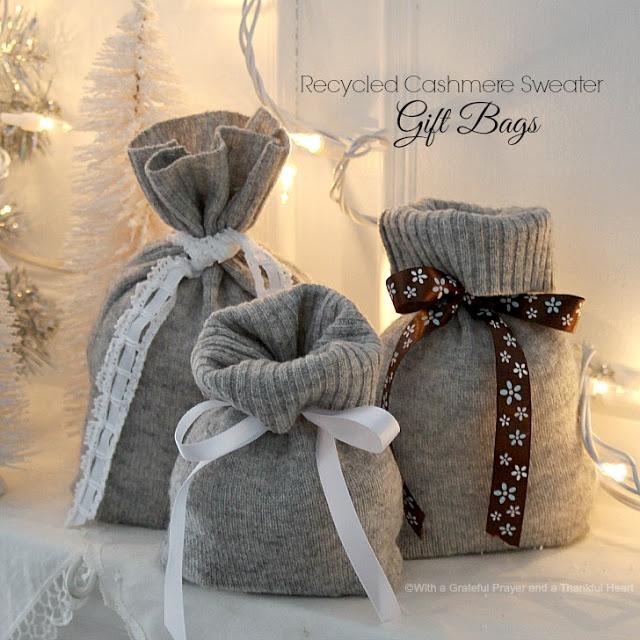 Diy Repurposed Gift Wrapping Ecogreenlove