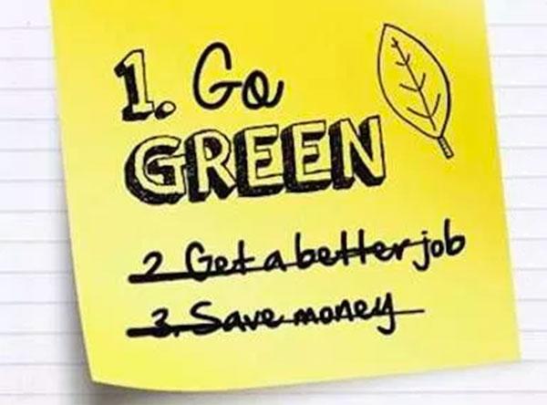 Green resolutions [Infographic] | ecogreenlove