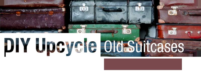 Reusing suitcases | ecogreenlove