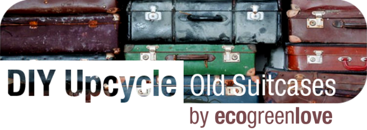 Reusing suitcases | ecogreenlove