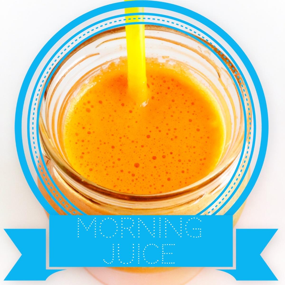 Morning Juice | ecogreenlove