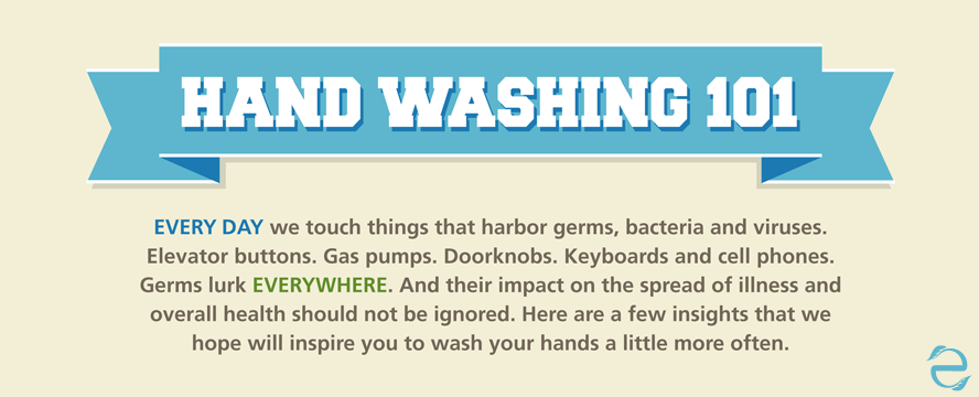hand washing guide infographic 101