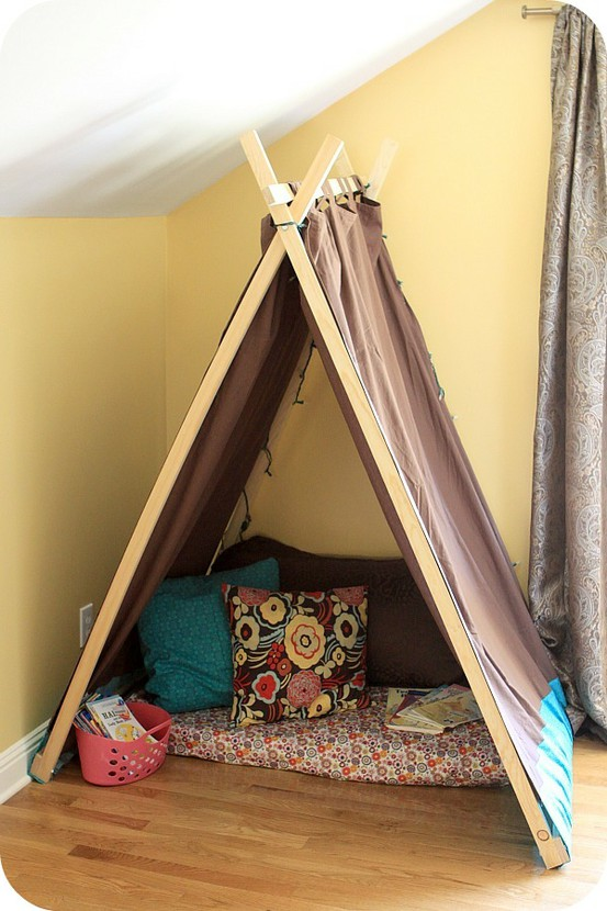 Reusing crib rails ecogreenlove for Homemade wall tent frame