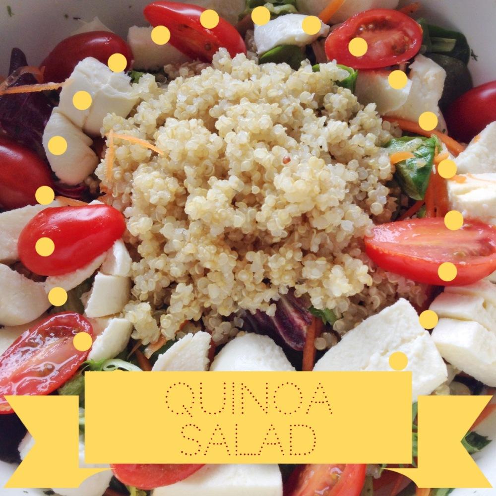Recipe: Quinoa Salad (1/2)