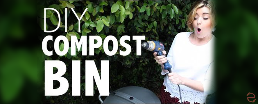 DIY Compost Bin | ecogreenlove