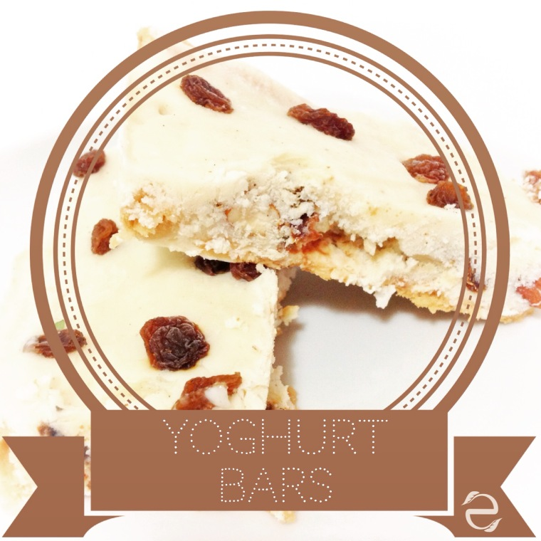 Recipe: Yoghurt bars | ecogreenlove
