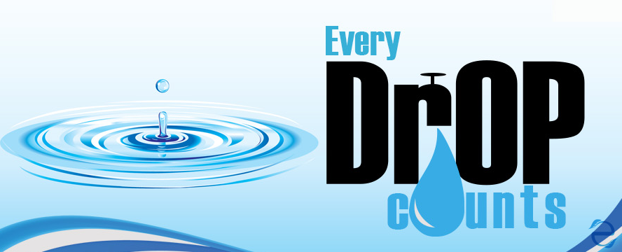 Every Drop Counts [Infographic] | ecogreenlove