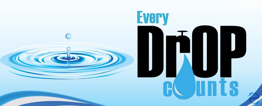 Every Drop Counts [Infographic] | ecogreenlove