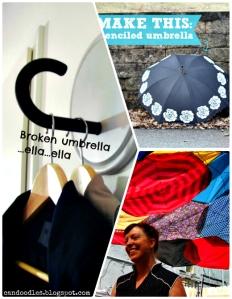 Repurpose: Broken Umbrella • Reusing Umbrellas | ecogreenlove