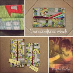 The case made from fabric and a broken umbrella • Reusing Umbrellas | ecogreenlove