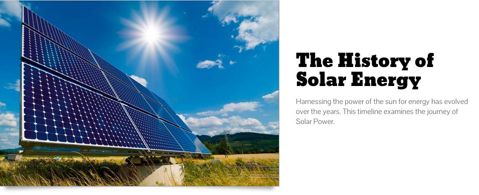 History of Solar Energy | ecogreenlove