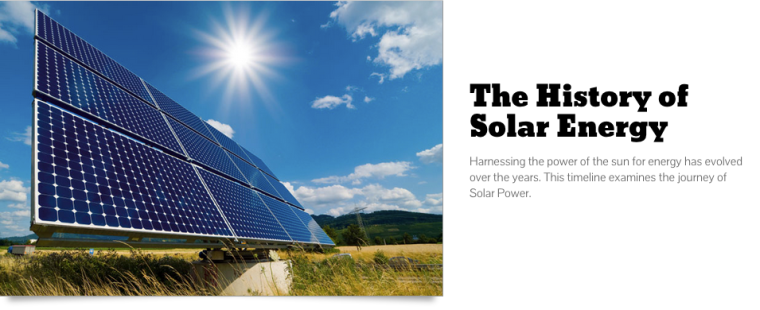 History of Solar Energy | ecogreenlove