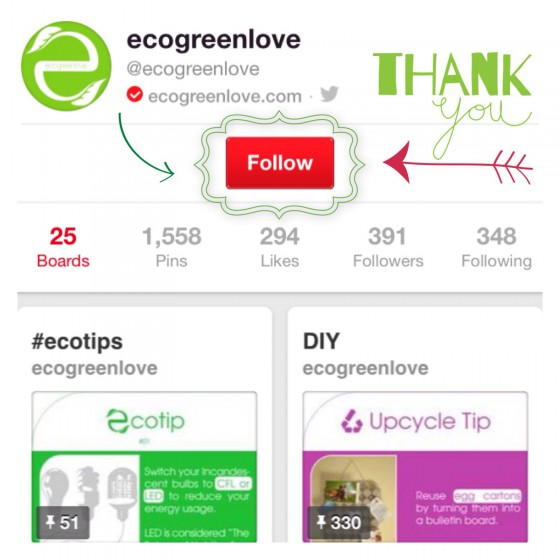 ecogreenlove on Pinterest