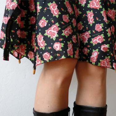 Broken Umbrella Skirt by Cecilia Felli • Reusing Umbrellas | ecogreenlove