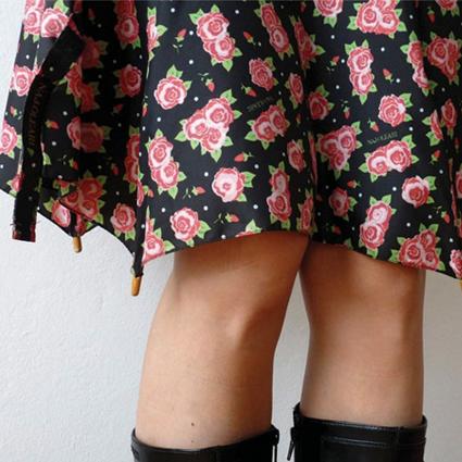 Broken Umbrella Skirt by Cecilia Felli • Reusing Umbrellas   ecogreenlove
