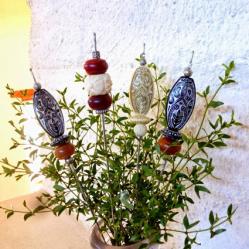 Ornamental Bead Sticks! - A Broken Umbrella • Reusing Umbrellas | ecogreenlove