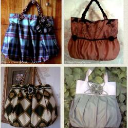 Upcycled umbrella handbags • Reusing Umbrellas   ecogreenlove