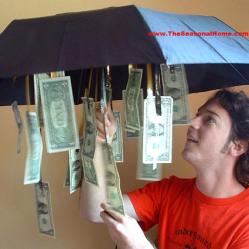 Gift cash • Reusing Umbrellas   ecogreenlove
