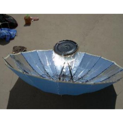 A Portable Parabolic Cooker Built from an Umbrella by Juan Francisco Paredes • Reusing Umbrellas | ecogreenlove