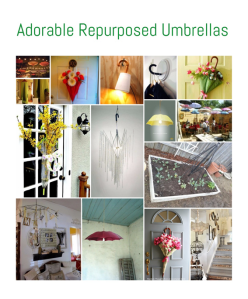 Adorable Repurposed Umbrellas • Reusing Umbrellas | ecogreenlove