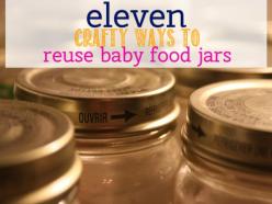 Reusing Baby Food Jars and Bottles | ecogreenlove