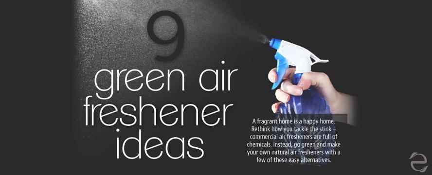9 Green Air Freshener Ideas [Infographic] | ecogreenlove