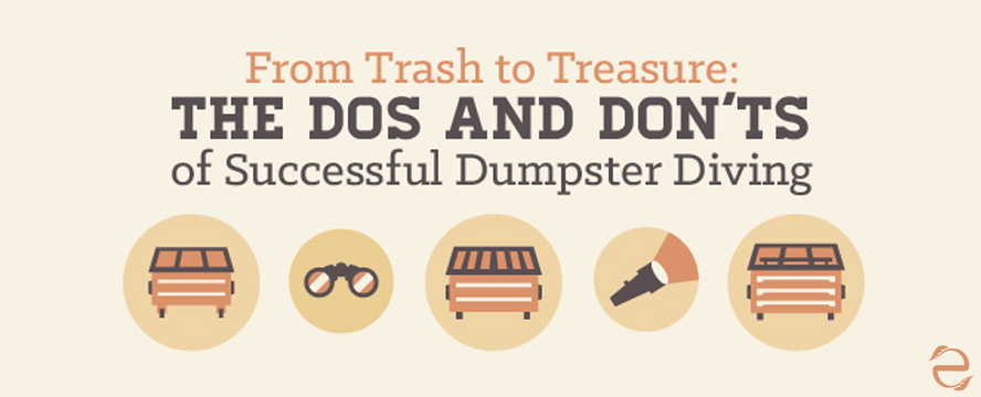 Tips on Dumpster Diving [Infographic] | ecogreenlove