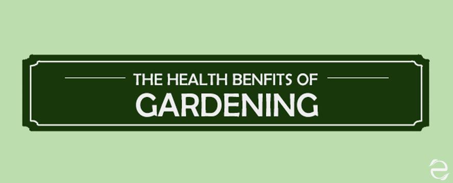 Wonderful health benefits of Gardening [Infographic] | ecogreenlove