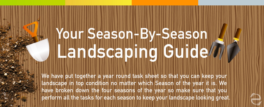 Season By Season Landscaping Guide [Infographic] | ecogreenlove