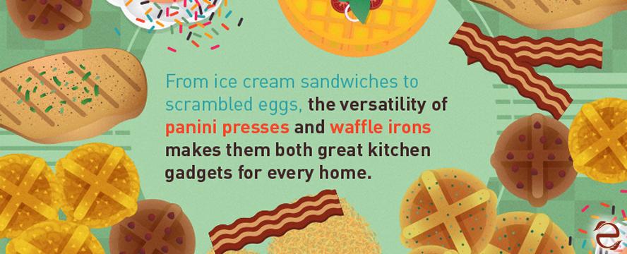 Panini & Waffle iron Hacks [Infographic] | ecogreenlove